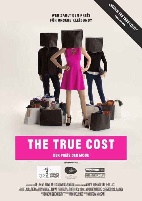 PLAKAT The true cost - Der Preis der Mode