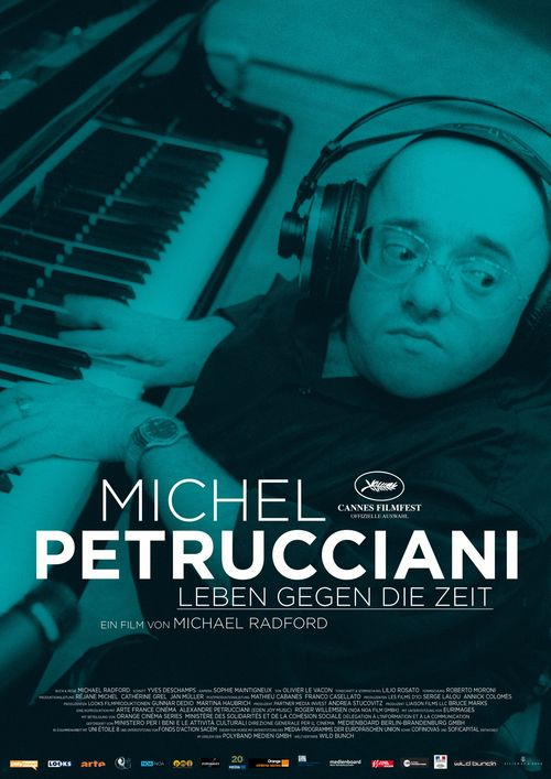 PLAKAT Michel Petrucciani - Leben gegen die Zeit