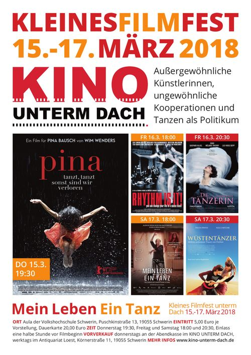 PLAKAT Eröffnungsfilm: Pina