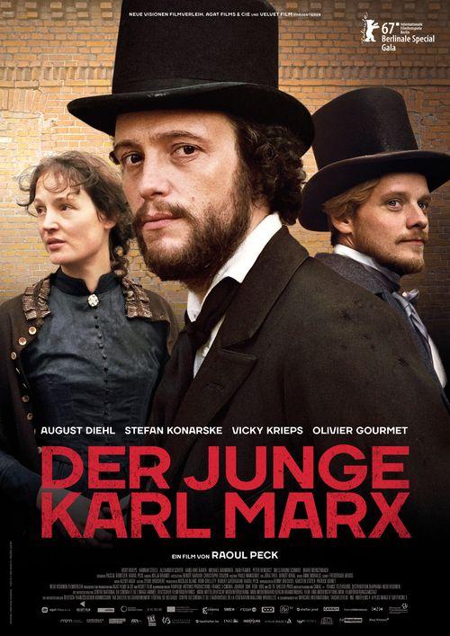 PLAKAT Der junge Karl Marx